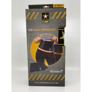 US Army 12″ WAIST TRIMMER BELT 50″ Length Exercise
